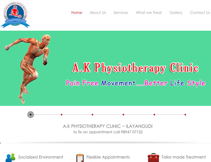 AK Physiotherapy Clinic Ilayangudi