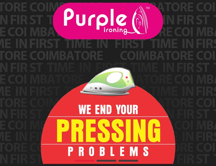 Purple Ironing Services Coimbatore